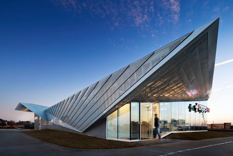 Gefaltetes Dach In Texas Design Amp Technik News